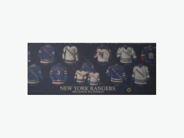 New York Rangers wall plaque