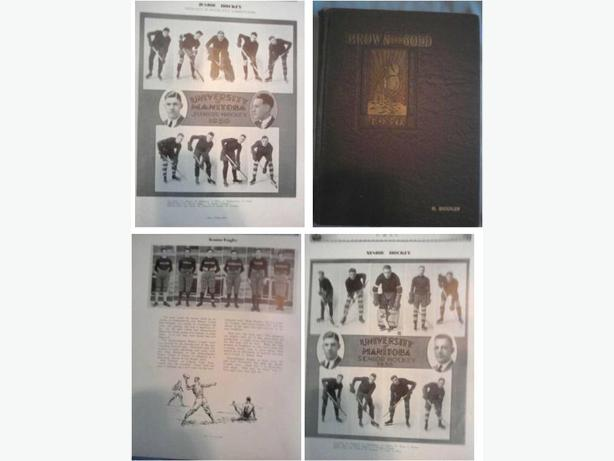 1930 University of Manitoba Yearbook (Hack Simpson)