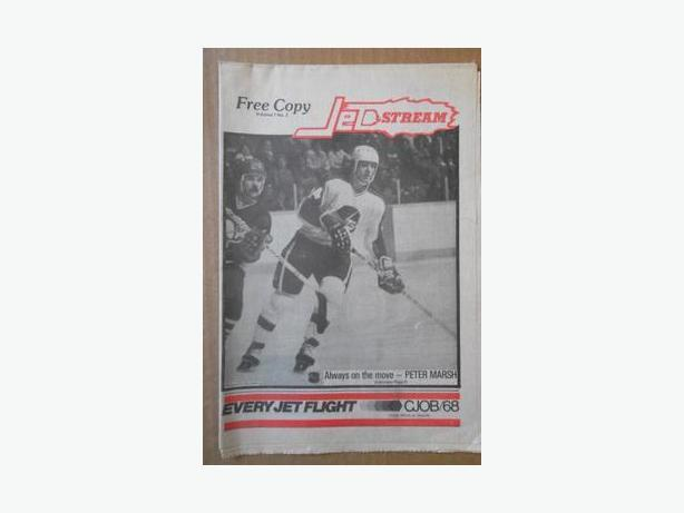 "Winnipeg Jets (NHL) ""Jetstream"" newspapers"