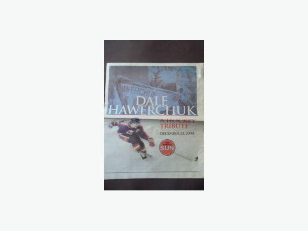 DALE HAWERCHUK NEWSPAPER