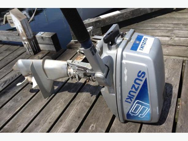 Suzuki 6hp Outboard 2 Stroke North Nanaimo Parksville
