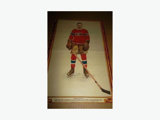 1927 Aurele Joliat La Presse hockey photo