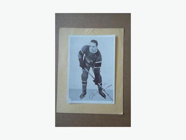 1930's Crown Brand hockey photo - Paul Haynes