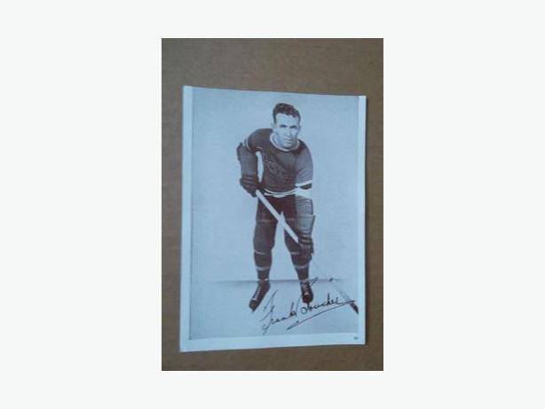 1930's Crown Brand hockey photo - Frank Boucher