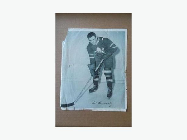 1940's Quaker hockey photo - Ted Kennedy