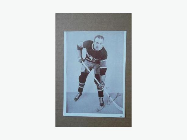 1930's Crown Brand hockey photo - Walter Buswell