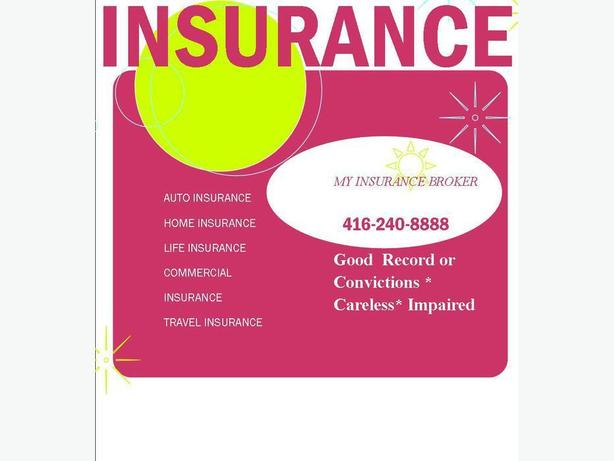 AUTO-HOME-COMMERICAIL-LIFE INSURANCE 416-240-8888