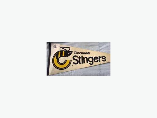 Cincinnati Stingers pennant