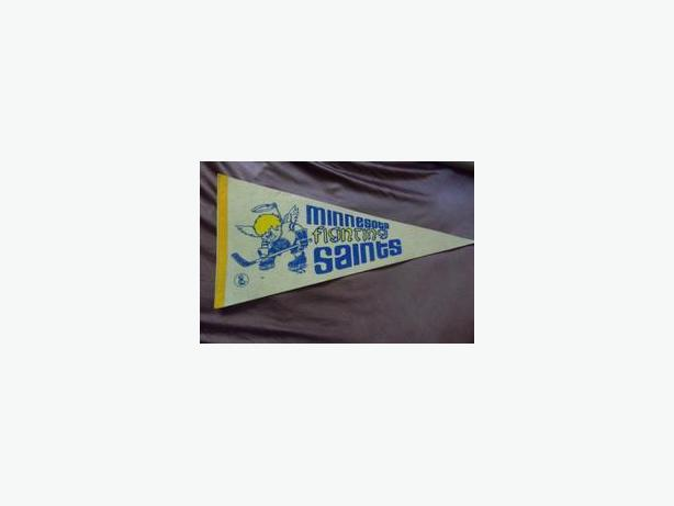 Minnesota Fighting Saints pennants
