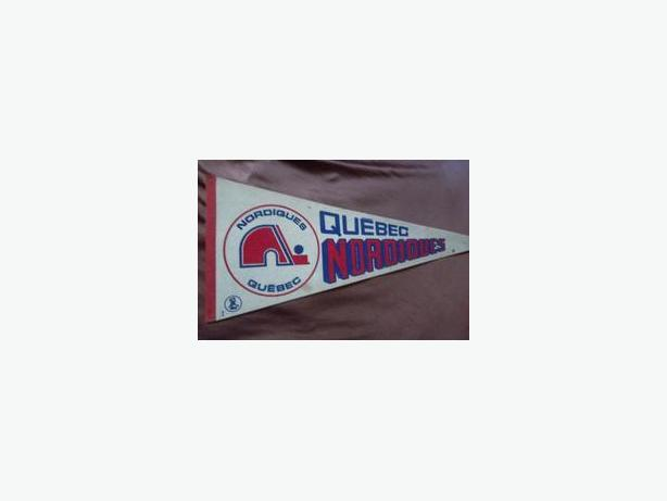Quebec Nordiques (WHA) pennant