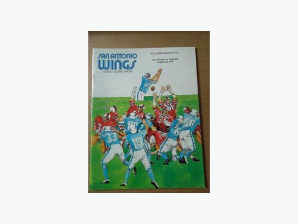 1975 World Football League Program