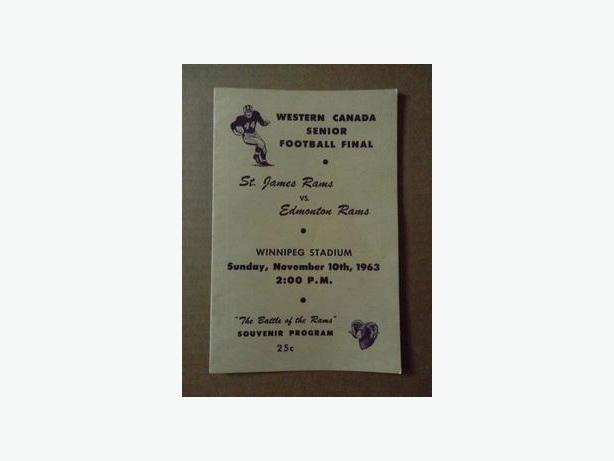 1963 St. James Rams (Senior Football) program