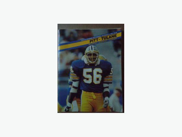 1980's University of Pittsburgh football  programs