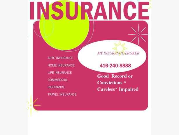 Auto, Home, Commercial, Life Insurance 416-240-8888