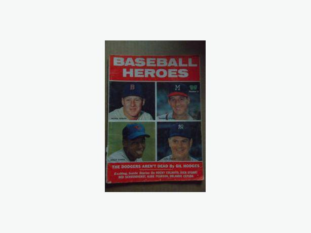 1950's - 80's Baseball magazines