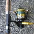Rod and Reel for saltwater fishing