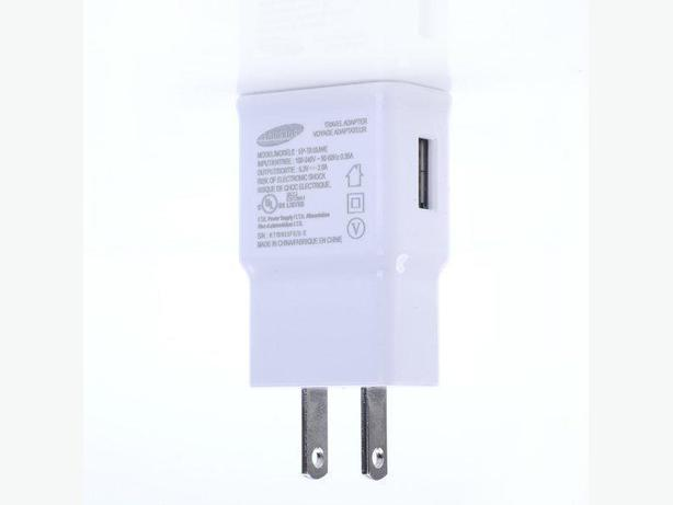 Samsung USB Wall Charger - 5.3 Volt, 2 Amp Output.
