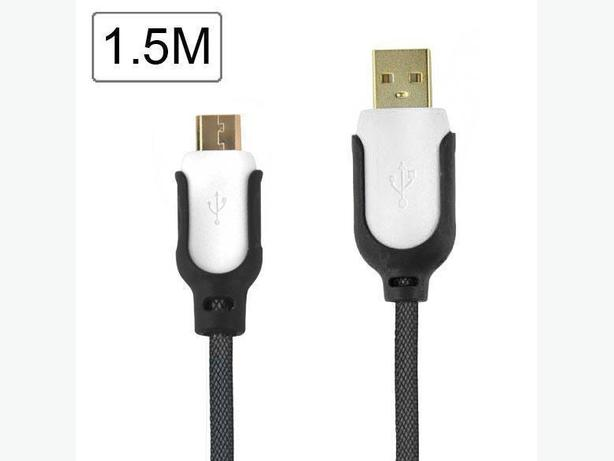 1.5M Braided Micro USB 2.0 Sync & Charge Cable for Samsung, Blackberry & HTC