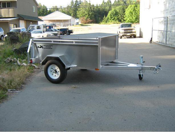 ALL ALUMINUM 4X6 UTILITY TRAILER