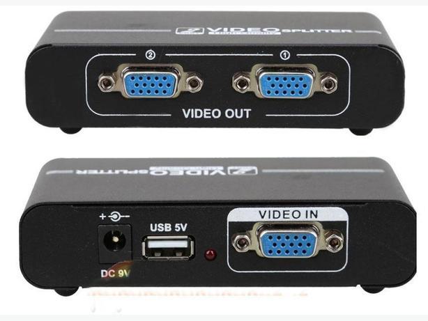 1x2 VGA Powered Splitter