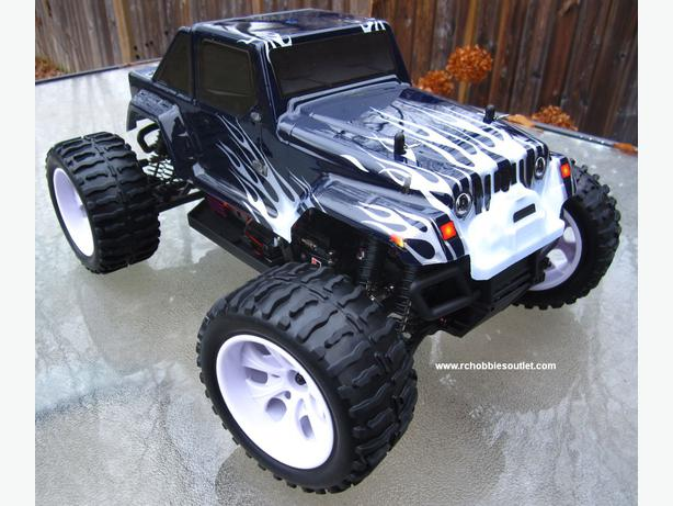 NEW RC MONSTER TRUCK 1/10 Scale ELECTRIC , 4WD