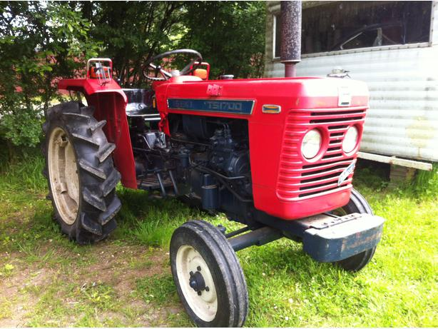 Iseki Diesel Tractor : Iseki ts wd diesel tractor south nanaimo parksville