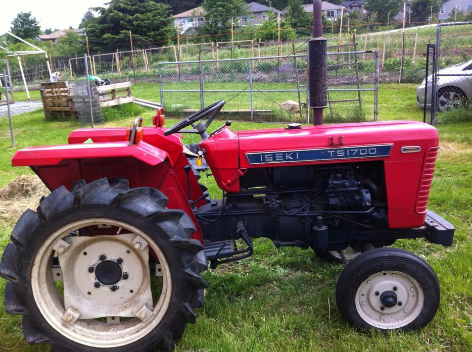 Iseki Diesel Tractor : Iseki ts wd diesel tractor south nanaimo