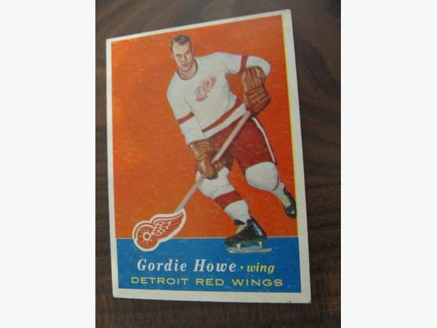 1957/58 Topps Gordie Howe #42