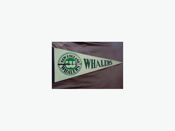 New England Whalers pennants