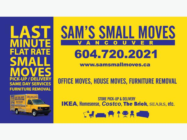 Cheap Small Moves - Furniture Delivery  Couch, Loveseat, Sectional Removal
