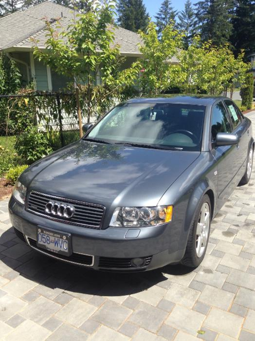 2003 Audi A4 Quattro Sport Low Kms West Shore Langford