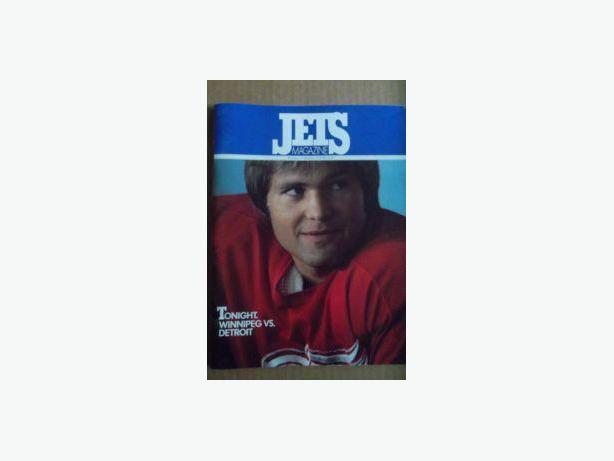 1979 Winnipeg Jets programs