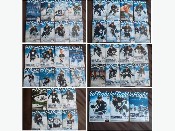 Set of 2013/14 Winnipeg Jets Home Game programs
