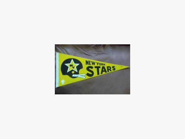 New York Stars (WFL) pennant