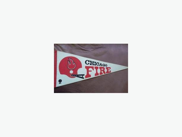 Chicago Fire (WFL) pennant