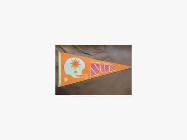 Southern California Sun (WFL) pennant