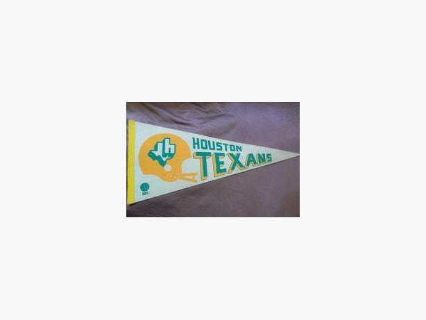 Houston Texans (WFL) pennant