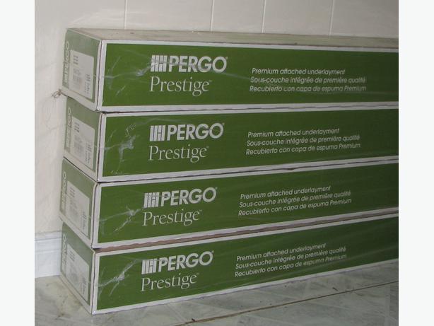 Pergo Prestige Premium Laminate Floor 4 Unopened Boxes