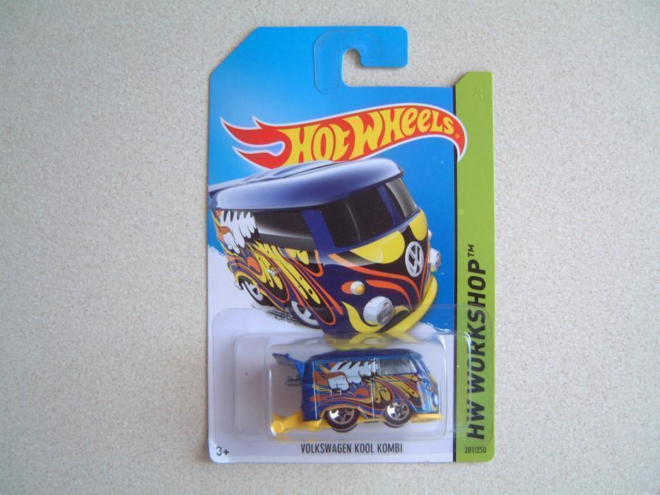 Hot Wheels Quot Hw Workshop Quot Vw Volkswagen Kool Kombi Bus