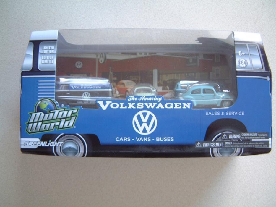 Greenlight motor world the amazing volkswagen 5 car set for Motor world used cars