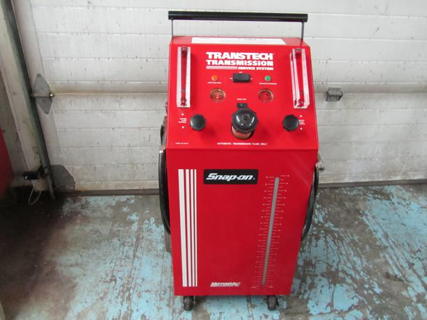 snap on transmission flush machine