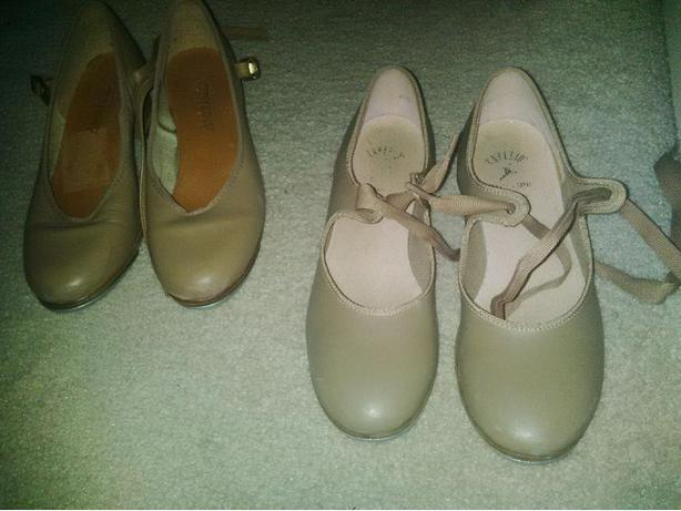 Size 4-6 Tap  & Jazz Shoes (Great Condition)