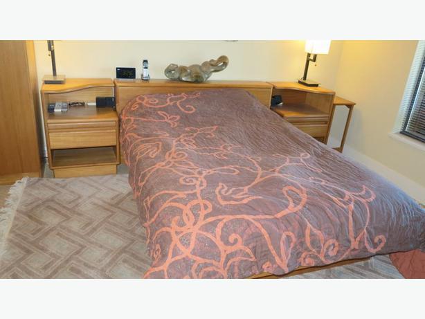 Scan Design Teak Prestigia Bedroom Set Kelowna Okanagan