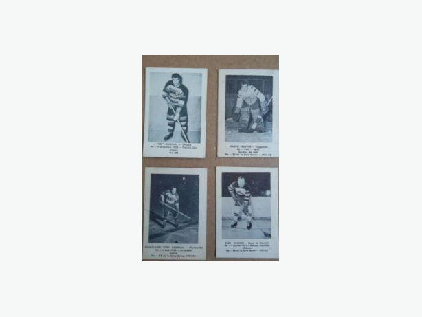 1950's Laval Dairy hockey cards