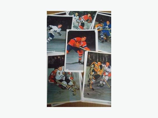 1963/64 Toronto Star - Hockey Stars in Action cards