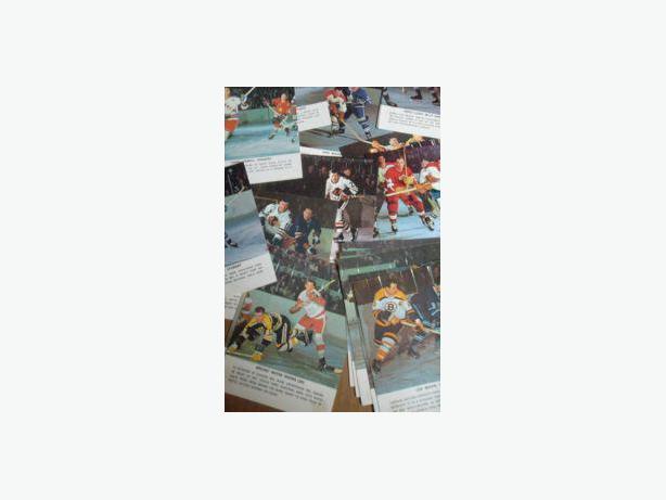 1964/65 Toronto Star - Hockey Stars in Action cards
