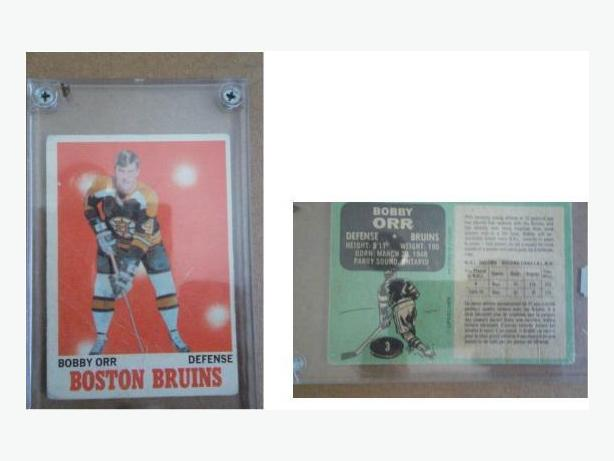 1970/71 O.P.C. Bobby Orr hockey card