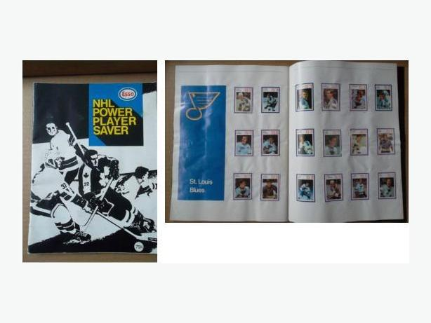 1970/71 Esso Power Players sticker set?in softcover