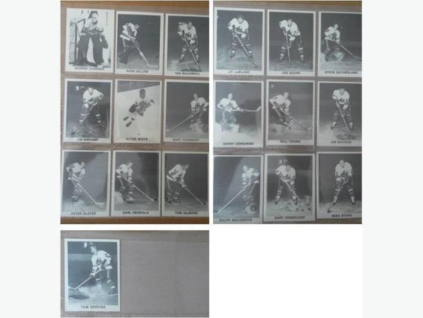 1972/73 Los Angeles Sharks (WHA) set