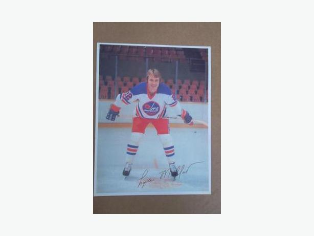 1970's Lyle Moffat (Winnipeg Jets - WHA) photo